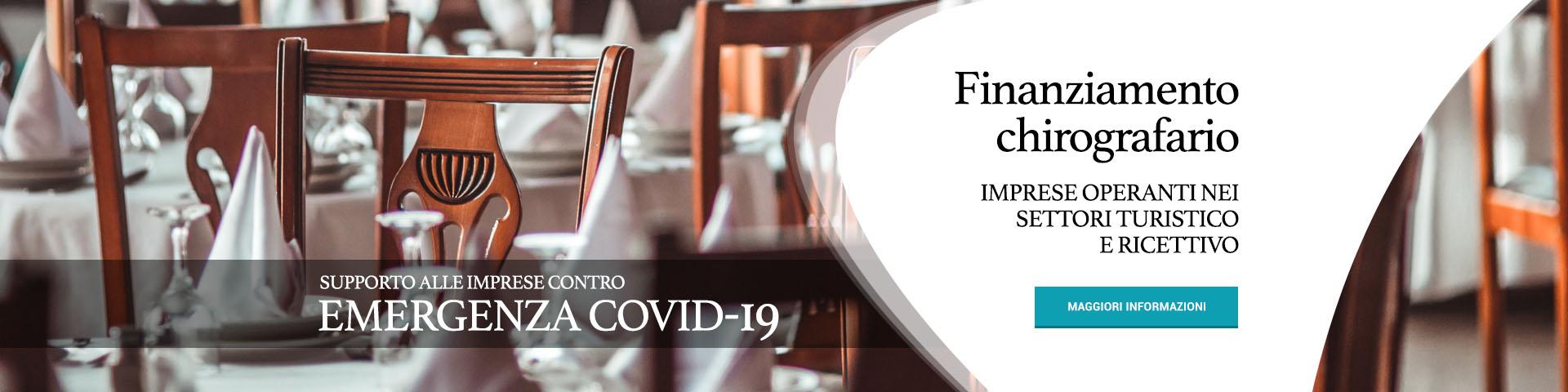 Supporto alle imprese contro l'emergenza Covid-19